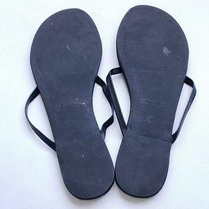 Victoria's Secret Shoes - Victoria's Secret Black Flip Flops